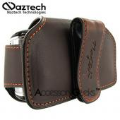 Naztech Horizontal Ultima Cell Phone Case (FS) - Coffee Brown