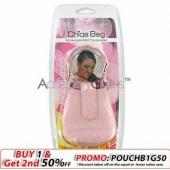 Universal Kangaroo Fashion Pouch - Diamond Pink