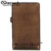 Naztech Prive Cell Phone Case w/ Hand Strap (FUT) - Gold