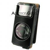 Apple iPod Nano Black Wallet Case