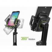 Macally Universal Adjustable Automobile Cup Holder Cell Phone/ Device Mount, MCUP - Black