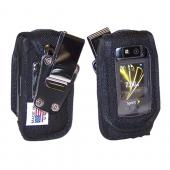 Original TurtleBack Premium Motorola Renegade V950 Heavy Duty Nylon Case w/ Steel D-Ring Belt Clip - Black