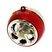Original Kinyo Universal Mini Portable Rechargeable Speaker (3.5mm) - Red