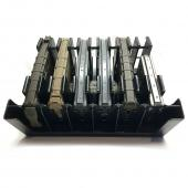 [Mag Storage Solutions] Ar-15 Magazine Holder Mag Holder Rack - Compatible w/ Most .223 and 5.56 Caliber Mags - Holds Six 30-round Ar-15 Magazines
