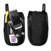 Original TurtleBack Premium Sprint/Nextel Motorola i530 Heavy Duty Nylon Case w/ Steel D-Ring Belt Clip - Black