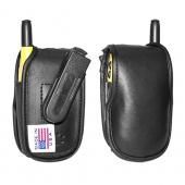 Original TurtleBack Premium Sprint/Nextel Motorola i530 Leather Case w/ Swivel Belt Clip - Black