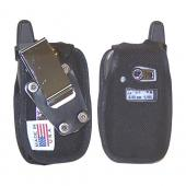 Original TurtleBack Premium Sprint/Nextel Motorola i580 Heavy Duty Nylon Case w/ Steel D-Ring Belt Clip - Black