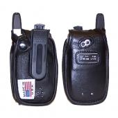 Original TurtleBack Premium Sprint/Nextel Motorola i850 / i855 Leather Case w/ Swivel Belt Clip - Black