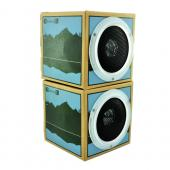 Original OrigAudio Premium Fold N' Play Recycled Speakers 3.5mm - Lake View Design