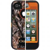 OTTERBOX APL2-I4SUN-H4-E4RT1_A: IPHONE 4S DEFENDER SERIES CASE (BLAZE ORANGE/AP CAMO PATTERN)