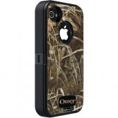 OTTERBOX APL2-I4SUN-H5-E4RT1_A: IPHONE 4S DEFENDER SERIES CASE (BLACK/MAX 4 CAMO PATTERN)