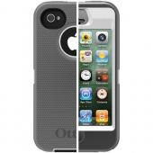 OTTERBOX APL2-I4SUN-J1-E4OTR_A IPHONE 4S DEFENDER SERIES CASE (WHITE/GUNMETAL GREY)