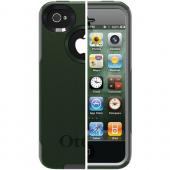 OTTERBOX APL4-I4SUN-F2-E4OTR_A IPHONE(R) 4S COMMUTER(R) SERIES CASE (ENVY GREEN/GUNMETAL GREY SLIP COVER)