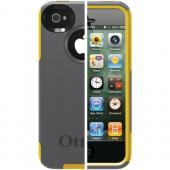 OTTERBOX APL4-I4SUN-F3-E4OTR_A IPHONE 4S COMMUTER SERIES CASE (GUNMETAL GREY PC/SUN YELLOW SLIP COVER)
