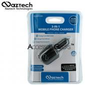 Naztech n300 3-in-1 Cell Phone Charger (I205 Type)