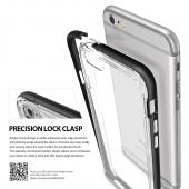 Apple iPhone 6/6S Bumper Case, Ringke [Frost Gray] FRAME Drop Protection Clear Soft Shock Absorption Protection Bumper Case