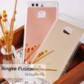 Huawei P9, [FUSION MIRROR] Bright Reflection Radiant Luxury Mirror Case [Royal Gold]