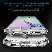 Samsung Galaxy S6 Edge Case, Ringke [Clear View] FUSION Series Slim & Protective Crystal Glossy Snap-on Hard Polycarbonate Plastic Case Cover w/ Free Screen Protector