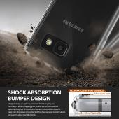 Samsung Galaxy A3 2016 Case, Ringke [Smoke Black] FUSION Series Shock Absorption TPU Bumper Case