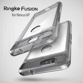 Huawei Google Nexus 6P Case, Ringke [Smoke Black] FUSION Series Shock Absorption Premium Clear Hard Case