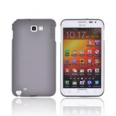 Original Rearth Samsung Galaxy Note Ringke Slim Hard Case w/ Screen Protector - Gray