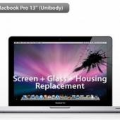 "(NO LONGER AVAILABLE) MacBook Pro 13""  Glass + Screen + Housing Repair Service"