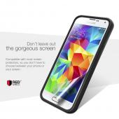 REDShield® Samsung Galaxy S5 Case | [Impact Resistant] Silicone TPU with Satin Back [Anti-Slip] [Navy]