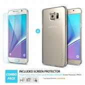 Samsung Galaxy Note 5, Ringke [Frost Mint] SLIM Series Full Top/ Bottom Coverage Dual Coated Hard Case