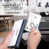 Samsung Galaxy Note 7 Case, Ringke [Wallet] All Around Protective Hybrid Wallet Cover [Black]