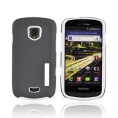 Original Incipio Samsung Droid Charge Silicrylic Dual Hard Case on Silicone w/ Screen Protector, SA-149 - White/ Gray