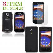 Samsung Epic 4G Bundle Package - Clear Hard Case, Silicone Case & Screen Protector - (Essential Combo)