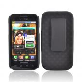 Original Verizon Samsung Fascinate i500 Rubberized Holster and Case Combo, SAMI500HOC - Black