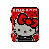 Hello Kitty w/ Big Bow & Polka Dots Apple iPad (All Gen.) Neoprene Pouch Case