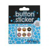 Universal Apple iPhone/ iPod/ iPad Home Button Stickers - Pastries