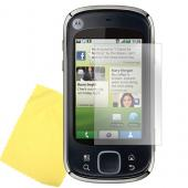 Motorola Cliq XT High Quality Screen Protector w/ Mirror Effect