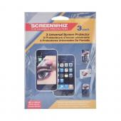 Universal Premium Screen Protector w/ Mirror Effect - 3 Pack