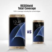 Samsung Galaxy S7 Edge [REDshield] Ultra Thin Soft TPU Screen Protector Film - Protect Your Screen From Scratches - Wraps Edge to Edge!