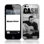 Original Music Skins Apple iPhone 5 Protective Skin - Johnny Cash Strum