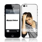 Music Skins Justin Bieber Boyfriend Protective Skin for Apple iPhone 5/5S/5C