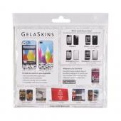 Original GelaSkins AT&T/ Verizon Apple iPhone 4 Protective Skin - The Soundtrack (To My Life) Gray w/ White Bear