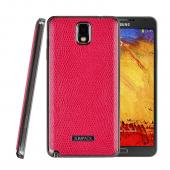 SLIMPACK Leather Back Samsung Galaxy Note 3 CASE Red