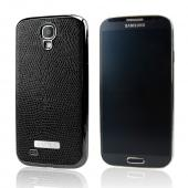 SLIMPACK Leather Back Samsung Galaxy S4 CASE Black