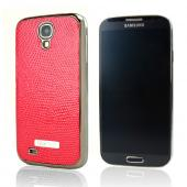 SLIMPACK Leather Back Samsung Galaxy S4 CASE Red