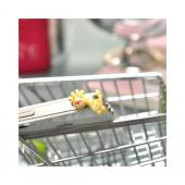 Universal 3.5mm Headphone Jack Stopple Charm - Yellow Giraffe