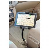 "Arkon Seat Rail or Floor Mount for Universal Tablets (7""-12"") with 18"" Flexible Gooseneck Arm"