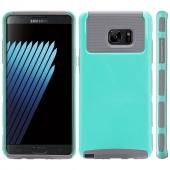 Samsung Galaxy Note 7 Case, REDshield Hard Cover on TPU Hybrid Dual Layer Case [Mint/ Gray]