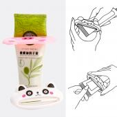 Geeky Pink Pig Toothpaste Dispenser Squeezer - Make Your Toothpaste Last!