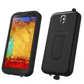 VASY Black Samsung Galaxy Note 3 Waterproof/ Dustproof/ Dirt Proof Protective Hard Case w/ Kickstand & Lanyard - Perfect Alternative to LifeProof!