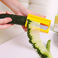 Veggie Slicer Sharpener [Yellow] - Perfect for Your Salad!