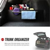 [REDshield] Multipurpose Auto Trunk Organizer for Car, SUV, or Minivan - [Black] 22.4 inches x 7.08 inches [2 Pack!]